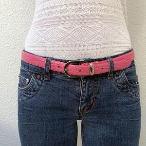 Perry Ellis Genuine Leather Belt Size: M